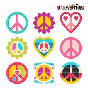 Love And Peace : love and peace clip art set daily art hub free clip ~ A.2002-acura-tl-radio.info Haus und Dekorationen