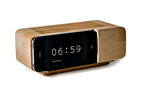 iphone alarm clock dock iphone dock the alarm clock of my dreams