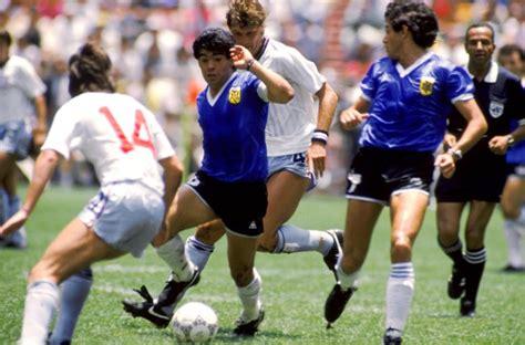 soccer world cup mexico  quarter final argentina