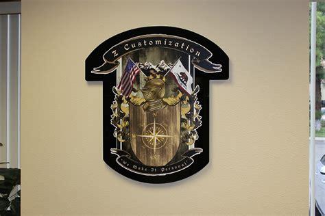 Corporate Signage Z Customization Goes Custom  Carlsbad, Ca