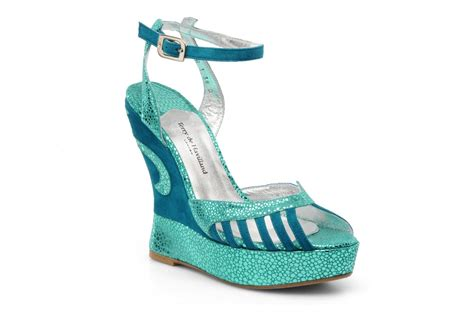 terry de havilland margaux bleu sandales et nu pieds