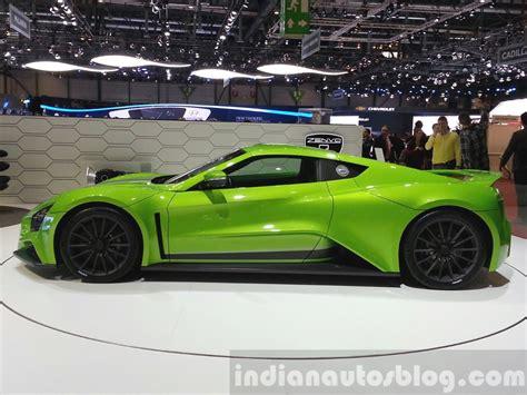 2018 Zenvo St1 Side View At The 2018 Geneva Motor Show