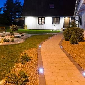 Lichter Für Den Garten : 6x garten led solar lampe wegbeleuchtung boden au en licht strahler spot viereck ebay ~ Sanjose-hotels-ca.com Haus und Dekorationen