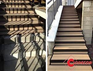 comment realiser un escalier en lames composites With realiser un escalier exterieur