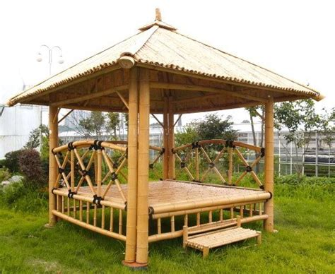 Bamboo Gazebo Kit Bamboo Gazebo Bamboo Pavilion House Pergola Patio