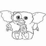 Coloring Gizmo Gremlins Coloriage Dessin Imprimer Colorier Sheets Gratuit Azcoloriage Enregistree Depuis sketch template