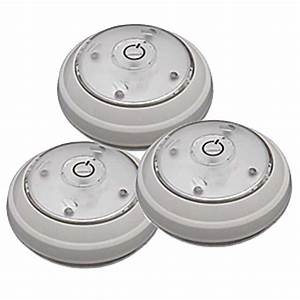 white rite lite puck light set of 3 rite lite led puck With outdoor battery operated puck lights