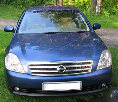 2003 Nissan Teana Photos 23 Gasoline Ff Automatic For