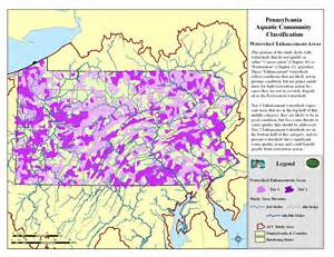 Pa Fish And Boat Commission Interactive Map by Pnhp Aquatic Classification Project Enhancement Priorities