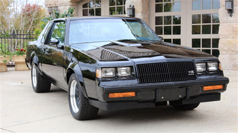 What's This Mint 1987 Buick Gnx With Eight (8) Miles On It