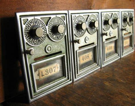 Sale  Vintage Post Office Box Door  Double Combination
