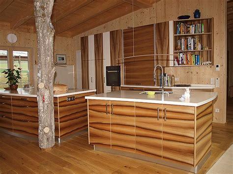Küche Aus Nussbaum Furniert