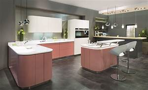Küchen L Form Mit Theke : colorado runde k che mit insel und theke in marsala rot ~ Bigdaddyawards.com Haus und Dekorationen