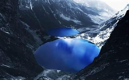 Mountain Lake Desktop Paradise