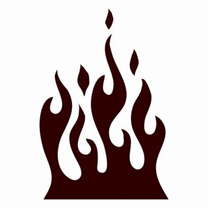 Silhouette Fire Burning Icon Transparent Log Svg
