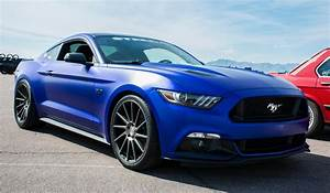Matte Blue 2015 Ford Mustang GT : Mustang