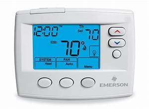 Emerson 1f80 0471 Single Stage Programmable Thermostat
