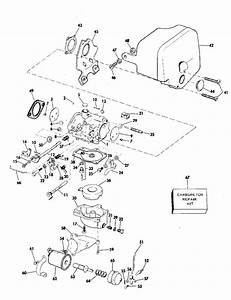Johnson Carburetor Parts For 1976 35hp 35e76g Outboard Motor