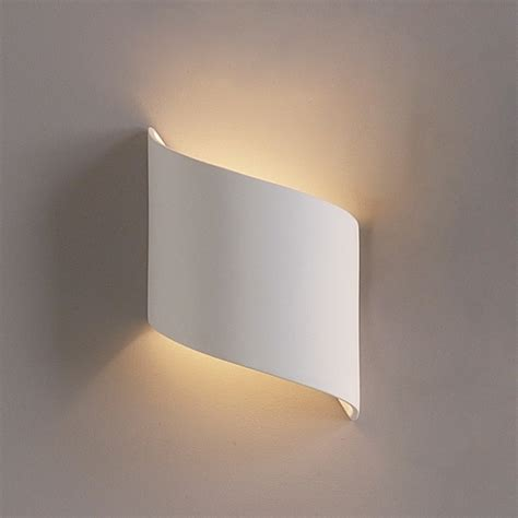contemporary ribbon wall sconce contemporary ceramic