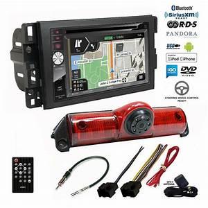 Gps Navigation  Bluetooth Radio Backup Camera Chevy Express