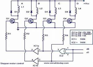 Stepping Motor  Stepper Motor Controller Circuit