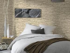 Papier Peint Fausse Pierre : papier peint imitation tout sur le papier imitation ~ Dailycaller-alerts.com Idées de Décoration