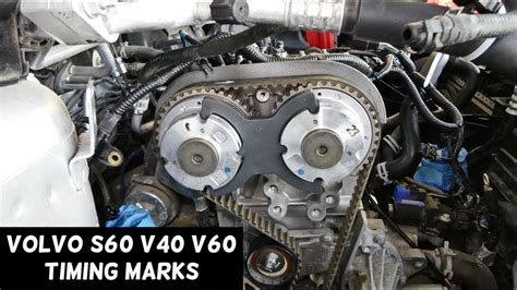 timing marks volvo      engine youtube