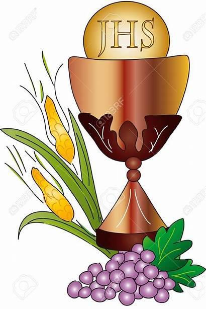 Easy Holy Communion Catholic Chalice Clipart Symbols