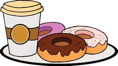 Coffee And Donuts Cartoon Clip Art, Vector Images & Illustrations     ClipArt Best   ClipArt Best