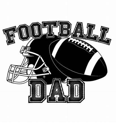 Football Clipart Team Helmet Dad Supporter Child