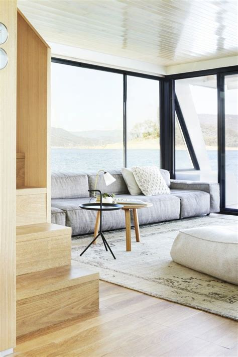Woonboot Oudega Te Koop by Lake Luxe The Bespoke Scandi Houseboat Australia Edition