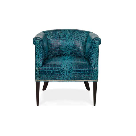 hancock and 6332 1 tangiers leather chair discount