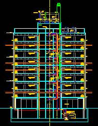 air conditioning section dwg section for autocad designscad