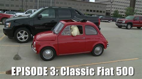 Giant Drives Classic Fiat 500