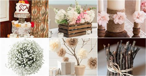 breathtaking diy rustic wedding decorations