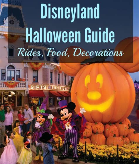 disneyland halloween  guide rides food decorations