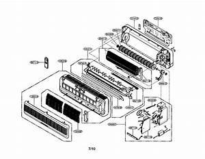 Icp Hmc024kd1 Room Air Conditioner Parts