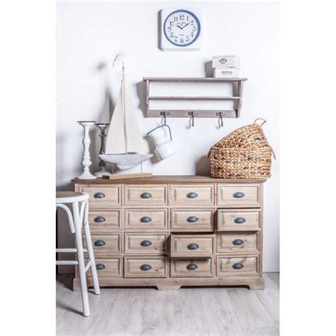 offerte cassettiere cassettiera country legno naturale offerte cassettiere