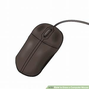 How To Draw A Computer Mouse  6 Steps  With Pictures