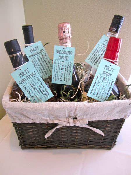 wedding shower gift basket ideas diy bridal shower bridechilla
