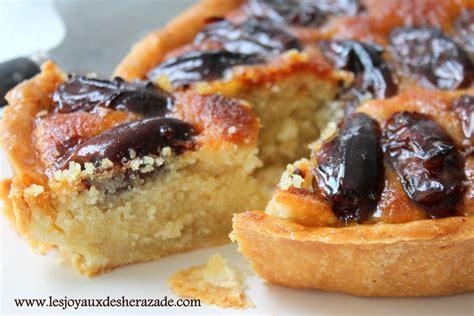 tarte aux dattes amandes les joyaux de sherazade