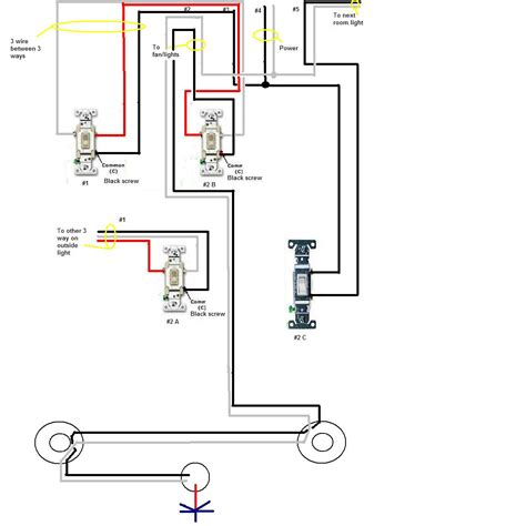 a 3 way switch controls i have a three way switch the switches control two or maybe three depending how you look at