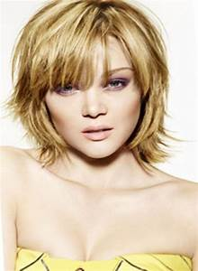 Frange Cheveux Mi Long : coiffure femme mi long degrade avec frange ~ Melissatoandfro.com Idées de Décoration