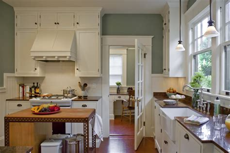 Bungalow Kitchen  Powrie  Craftsman  Kitchen Portland