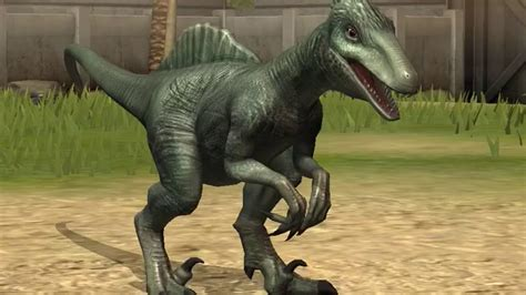 jurassic world  game spinoraptor hybrid youtube