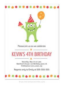 Nautical Wedding Shower Invitations by Cute Monster Birthday Party Invitation For Kids More