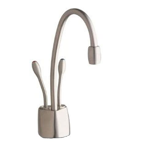 kitchen faucet filter insinkerator hc1100 brushed steel boiling cold water