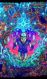50+ Trippy Background Wallpaper & Psychedelic Wallpaper ...