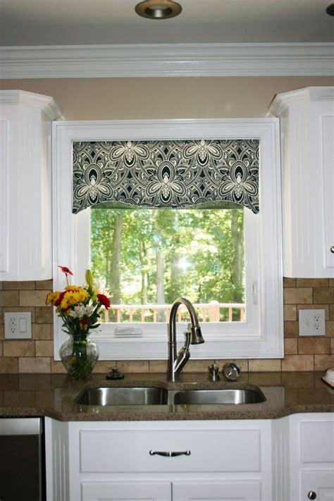 kitchen sink window treatment ideas kitchen window cornice ideas kitchen window valances