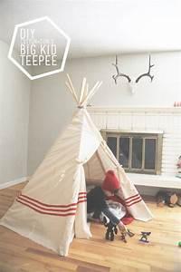 Diy Big Kid Teepee
